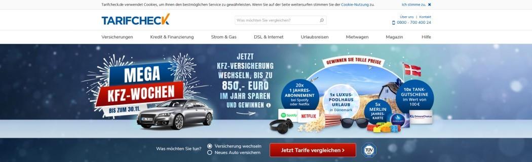 Kfz-Versicherung wechseln – 60 € AMAZON-Gutschein erhalten